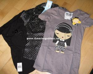 tshirt/polka dot from paymaggot, black top from marky